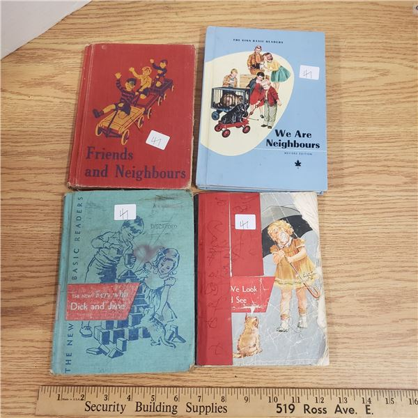 Dick and Jane Readers and other school books
