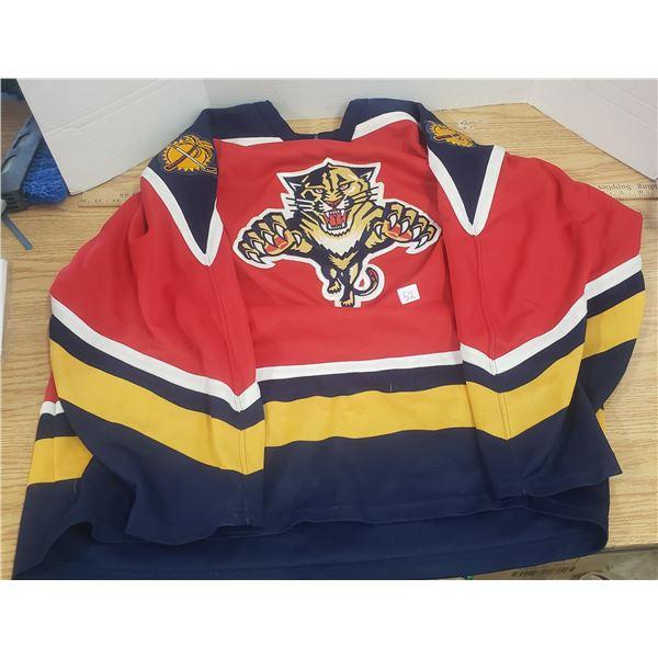 Florida Panthers NHL CCM Jersey XL hockey jersey