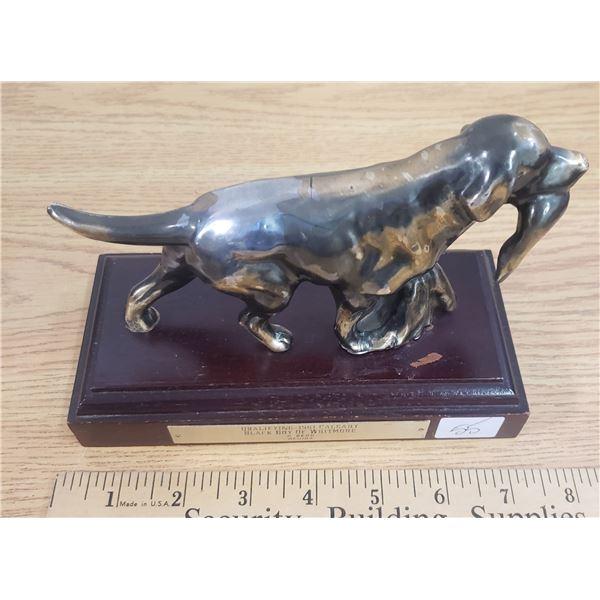 1961 pointer dog trophy Regina