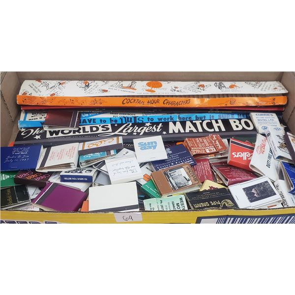 Advertising matches including long ones