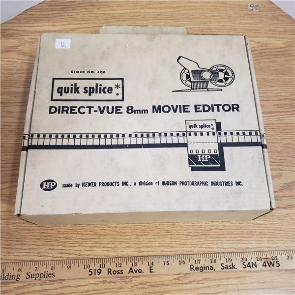 Quick Splice 8mm movie editor Hudson Photography