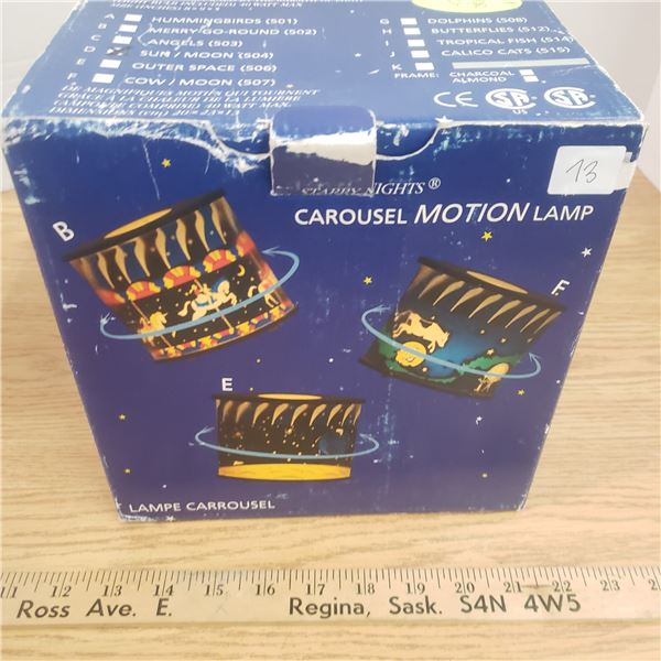 Motion lamp Starry Night  GWO