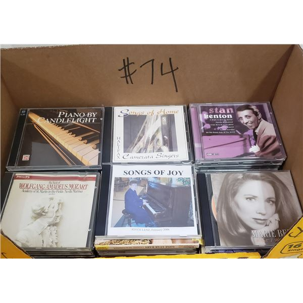 Lot of 39 Classical music cd's