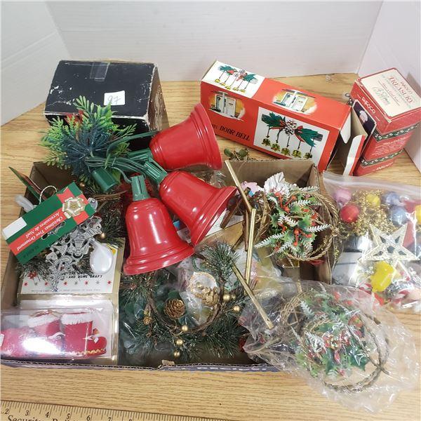 Assortment of Christmas items