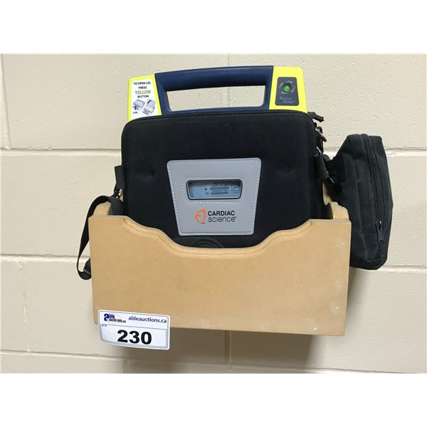 CARDIAC SCIENCE AED & WALL SHELF
