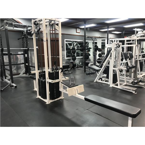 MULTI-FUNCTION WEIGHT TRAINING STATION