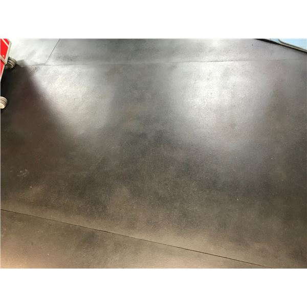 *T - RUBBER FLOORING TILES (APPROX 1150 SQ FT 4' X 8' SECTIONS) (MUST BE REMOVED FROM FLOOR)
