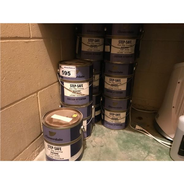 APPROX 15 GAL CLOVERDALE STEP SAFE NON-SLIP COATING