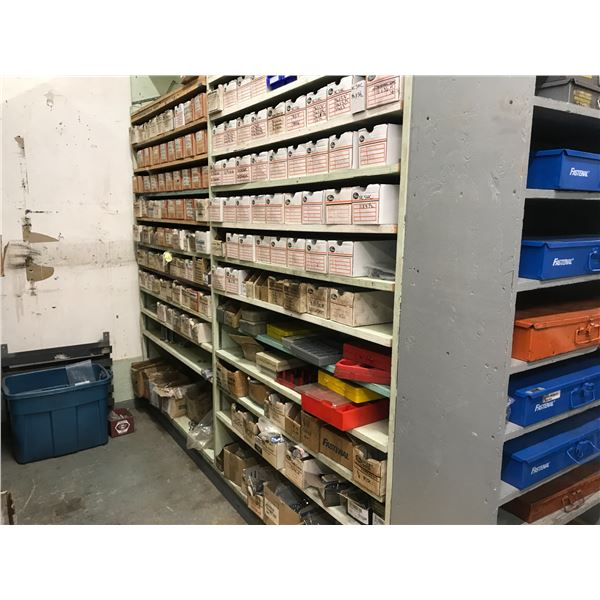VERY LARGE INVENTORY OF SPECIALTY NUTS, WASHERS, BALL-BEARINGS, BOLTS ETC