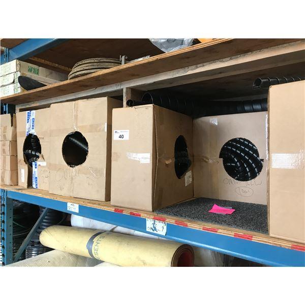 5 ASSTD BOXES OF HOSE SHIELD