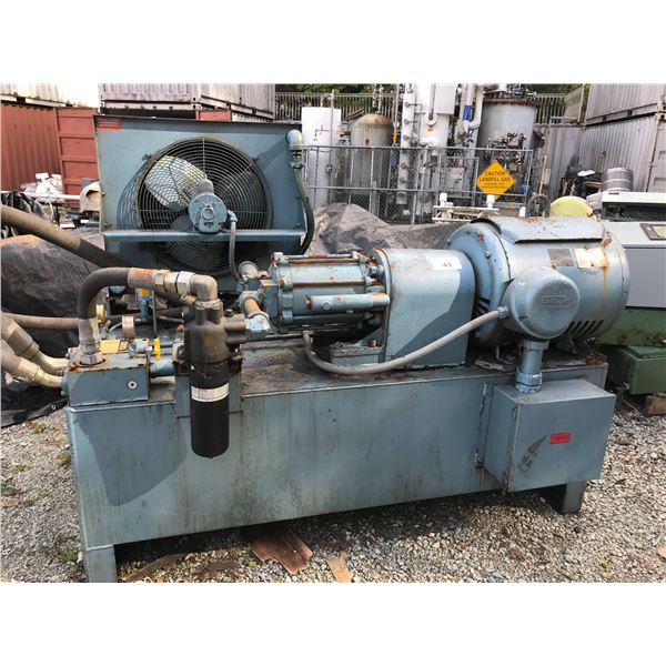 ** W.A. WHITNEY CORP 75HP HYDRAULIC POWER PACK MODEL #  804063