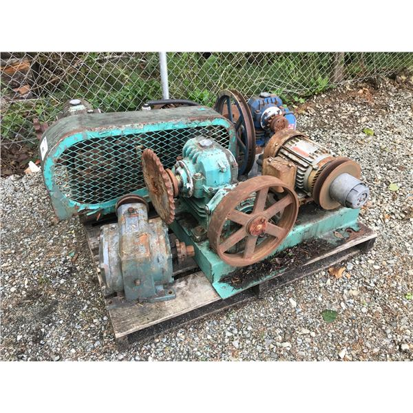 ** PALLET OF GEAR DRIVES - (LOCATED AT 4647 DUNDALK AVE., PORT ALBERNI)