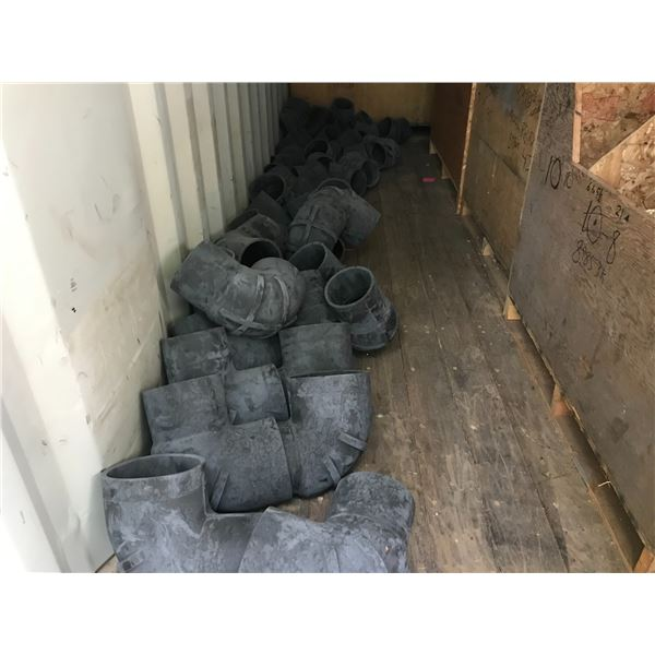 ** LARGE LOT OF ASSTD RUBBER HUMP HOSES - (LOCATED AT 4647 DUNDALK AVE., PORT ALBERNI)