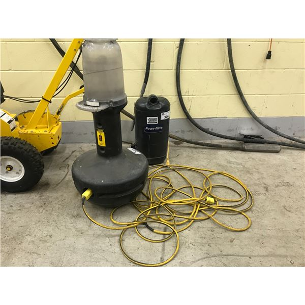 CONSTRUCTION SITE WOBBLE LIGHT WITH EXTENSION CORD