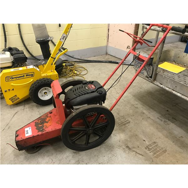 PUSH TYPE WEED EATER WITH BRIGGS & STRATTON 6HP