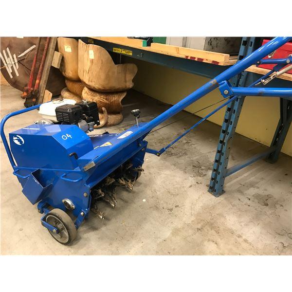 "BLUEBIRD MODEL 530 AERATOR (18"") WITH HONDA 4HP MOTOR"