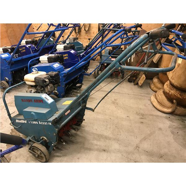 "BLUEBIRD AERATOR (16"") WITH GX120 HONDA 4.0HP MOTOR"