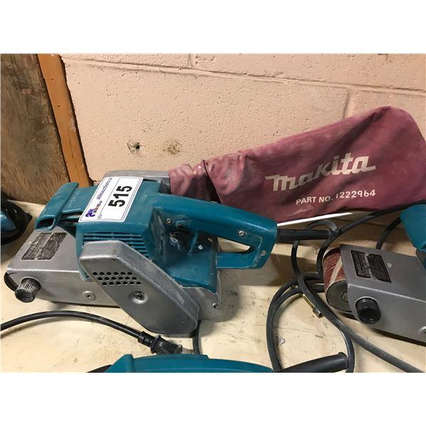 "MAKITA MODEL 9924DB 3 X 24"" ELECTRIC BELT SANDER"