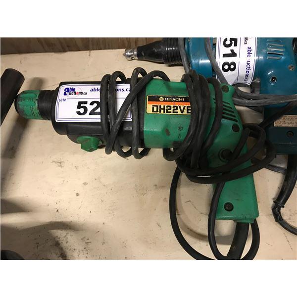 HITACHI ELECTRIC DH22VB HAMMER DRILL