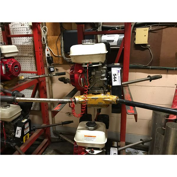 """2-MAN GAS POST HOLE AUGER WITH HONDA MOTOR & 8"""" AUGER"""