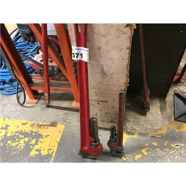 """30"""" PIPE WRENCH & 16"""" PIPE WRENCH"""