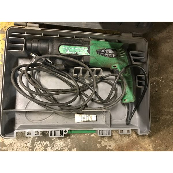 HITACHI HAMMER DRILL MODEL DH24PC2 WITH CARRY CASE