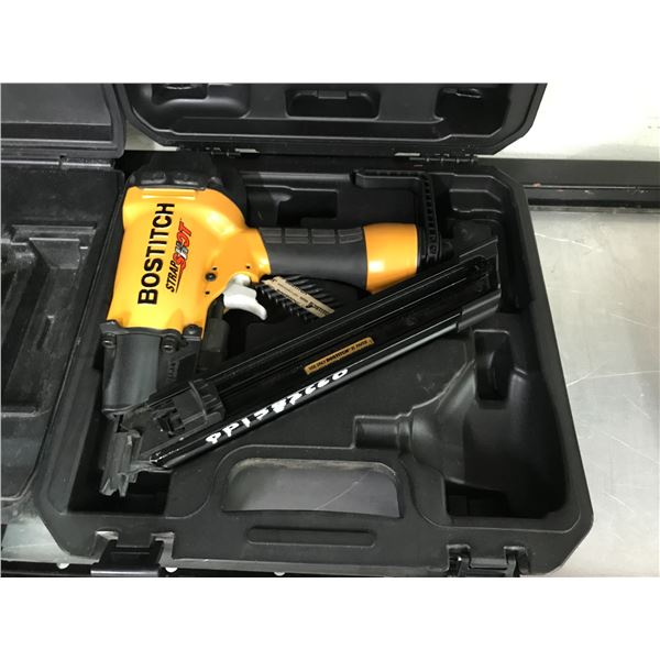 BOSTITCH STRAP SHOT METAL CONNECTOR NAILER MCN150 WITH CARRY CASE