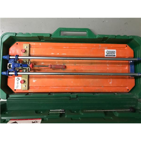RUBI TS-60 TILE CUTTER WITH CARRY CASE