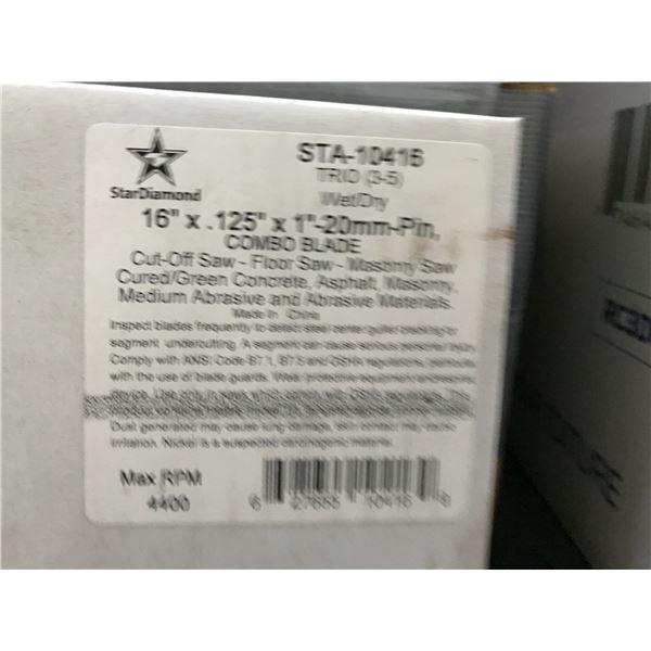 """STARDIAMOND STA-10416 16"""" COMBO BLADE MASONRY BLADE"""
