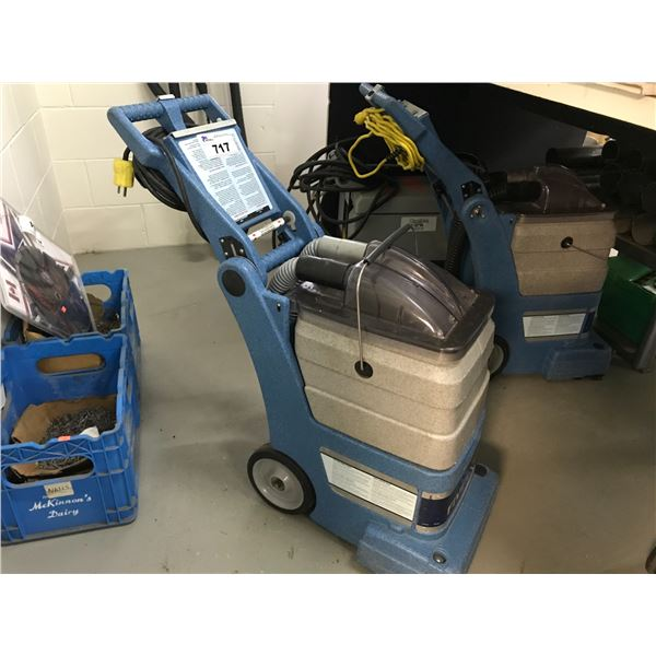 EDIC COMMERCIAL CARPET CLEANER MODEL 401TR - SUCTION HOSE REQUIRES SERVICE