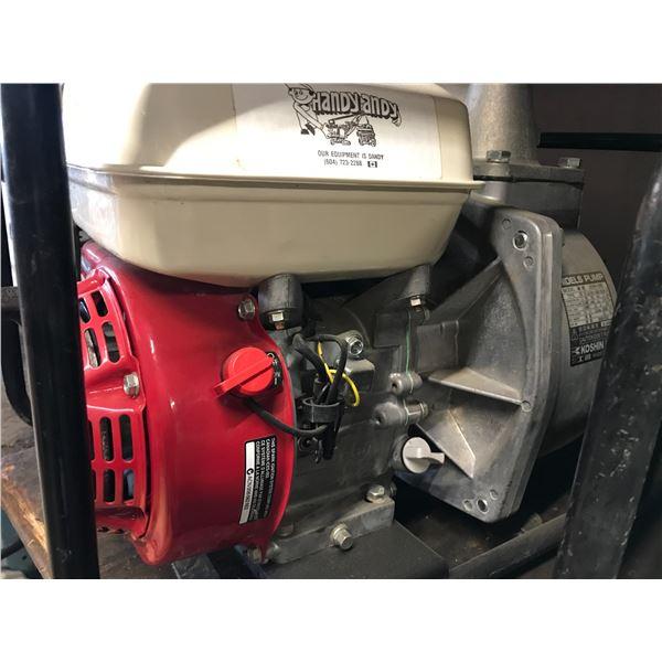 "KOSHIN 2"" STRH5B WATER PUMP WITH HONDA GX160 MOTOR - INCLUDES INTAKE HOSE"