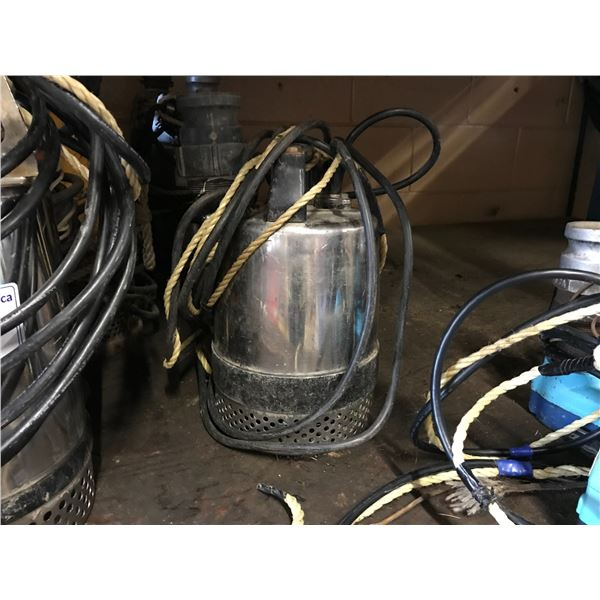 "FRANKLIN ELECTRIC MODEL SLS-400 2"" SUBMERSIBLE WATER PUMP"