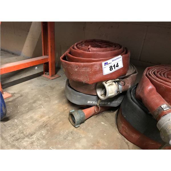 """GROUP OF 3 - 2"""" DISCHARGE HOSES"""