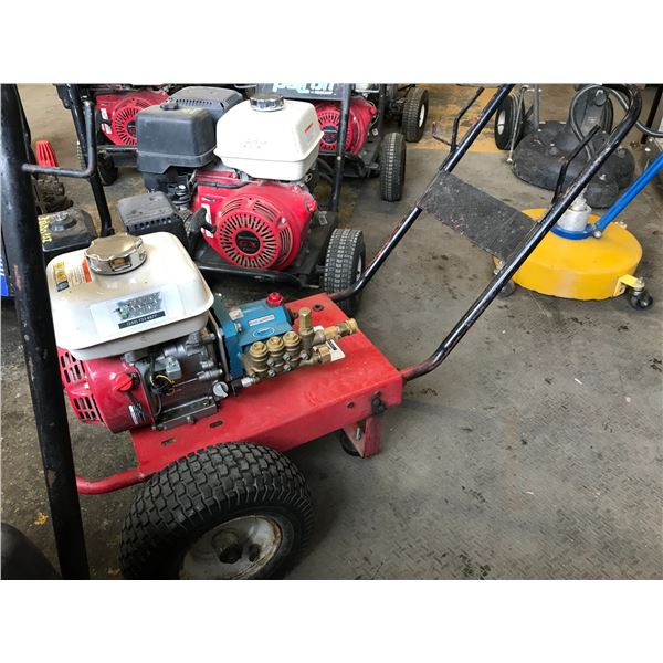 GAS POWERED 3000PSI PRESSURE WASHER WITH HONDA GX160 MOTOR WITH WAND & HOSE