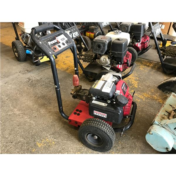 POWER EASE GAS POWERED PRESSURE WASHER 2800 PSI WITH HONDA GC160 MOTOR WITH WAND & HOSE