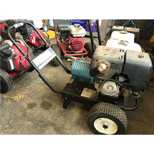 GAS POWERED PRESSURE WASHER HONDA 11HP MOTOR WITH HOSE