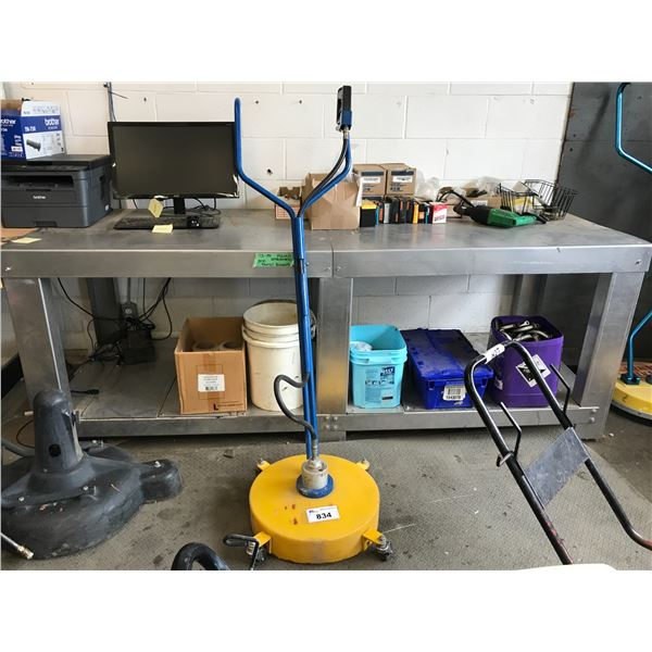 """FLOOR CLEANING PRESSURE WASHER ATTACHMENT (18"""")"""