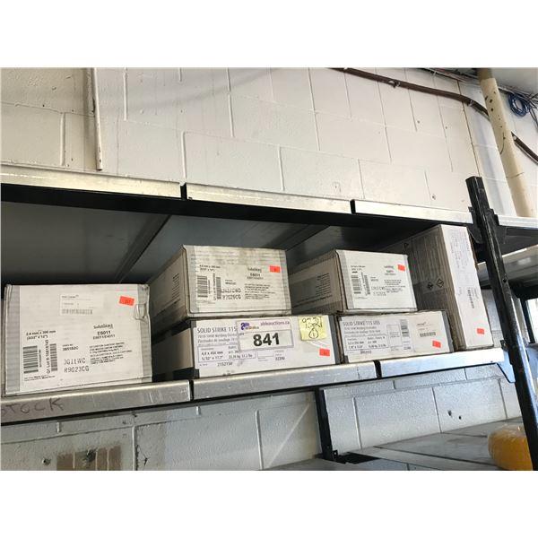 ASSTD SOLID STRIKE WELDING ELECTRODES 7018-1H4R (110KG TOTAL)