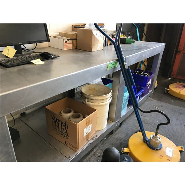 CONTENTS OF BENCH (NUTS & BOLTS, REPAIR PARTS, SHRINK WRAP - BENCH & COMPUTER NOT INCLUDED