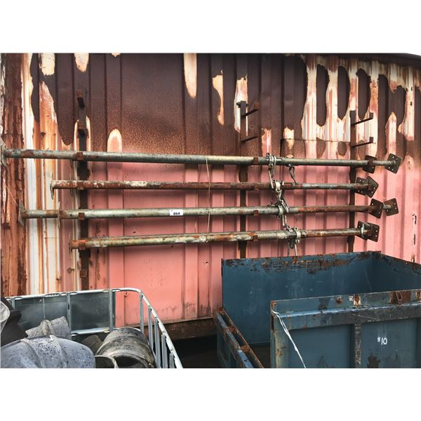 GROUP OF 8 JACK POLES