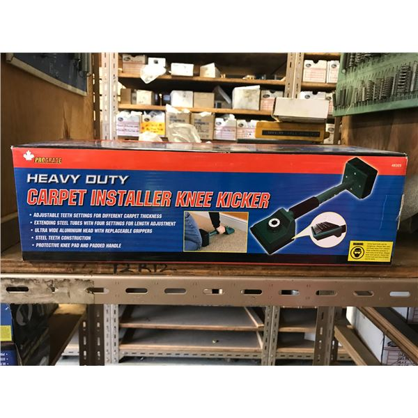 PROGRADE HEAVY DUTY CARPET INSTALLER KNEE KICKER (NEW IN BOX)