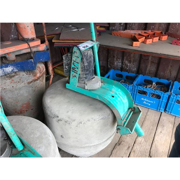 IMER ELECTRIC CEMENT MIXER ON WHEELS