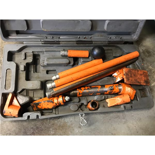 CENTRAL HYDRAULICS PORTABLE HYDRAULIC PULLER KIT - 10 TON