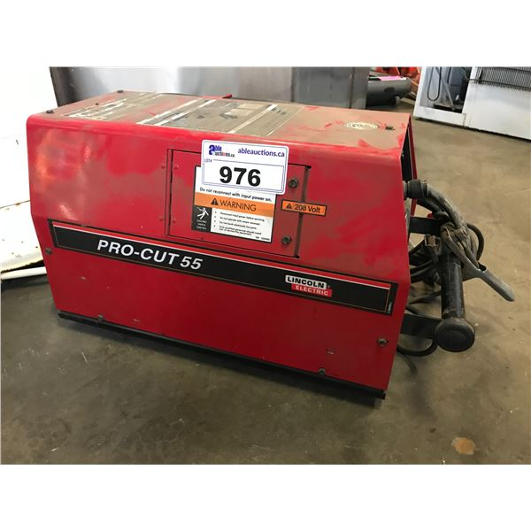 LINCOLN ELECTRIC PRO-CUT 55 PLASMA CUTTER