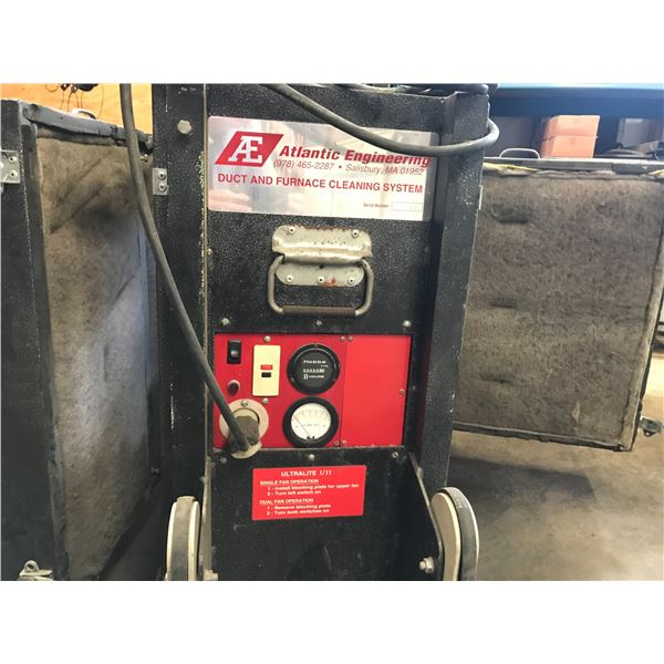 ATLANTIC ENGINEERING DUST & FURNACE CLEANING SYSTEM - NOT SURE IF COMPLETE