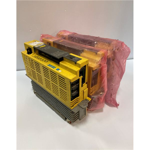 (3) Fanuc # A06B-6089-H105 Servo Amplifier Units