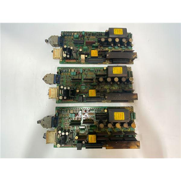 (3) Fanuc # A20B-0009-0320/10D Circuit Boards
