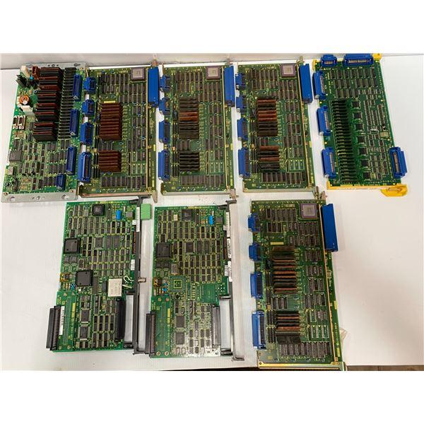 Lot of Fanuc Circuit Boards