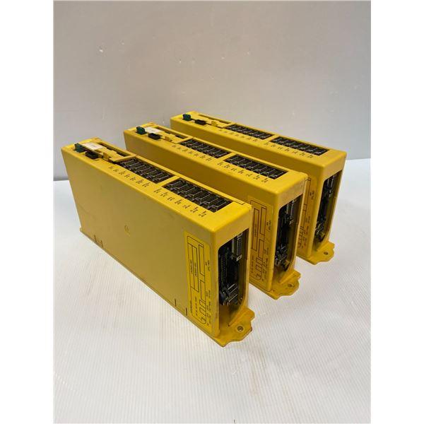 (3) Fanuc A02B-0166-B501 Power Mate Model D