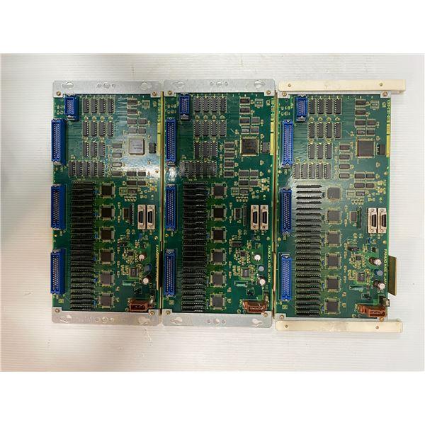 (3) Fanuc # A16B-2201-0070 Circuit Boards